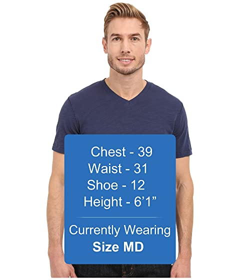 camiseta cuello v manga doc Porto de con o en El Navy New Mod corta WzqIFI