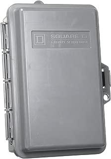 SCHNEIDER ELECTRIC Enclosed Cir Brkr 120/240-Vac 50-Amp Gfci QOE250GFINM Box Pc Performance F.Disk Dc 5 Slots