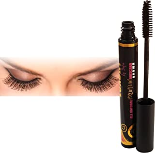 Luxury By Sofia Organic Eyelash Mascara With Sunflower & Chamomile Oils – All Natural & Non