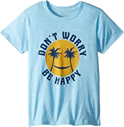 Don't Worry Short Sleeve Tee (Infant/Toddler/Little Kids/Big Kids)