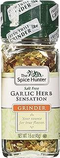 The Spice Hunter Garlic Herb Sensation Grinder, 1.6-Ounce Jar