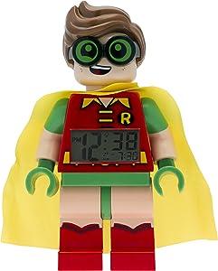 LEGO Batman 9009358 Sveglia per bambini minifigure Robin