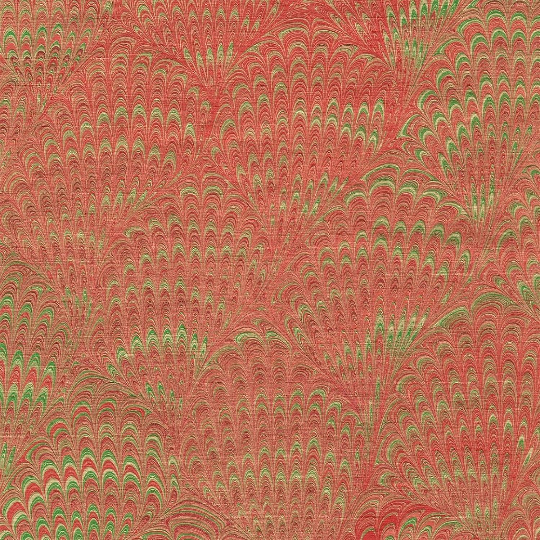 Caspari 89591RC Geschenkpapier, Geschenkpapier, Geschenkpapier, Motiv Marmoriertes, Papiermasse pro Rolle, 76 x 240 cm am Stück, rot B00W6QSFTE   Mode-Muster  d4f641