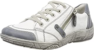 Women Lace-Up Shoes White, (Adria/Weiss/Weiss) D3808-81