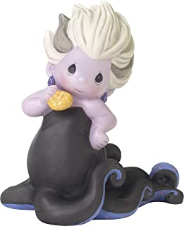 Precious Moments 192015 Disney Showcase Ursula You Leave Me Speachless Bisque Porcelain Figurine, Multi