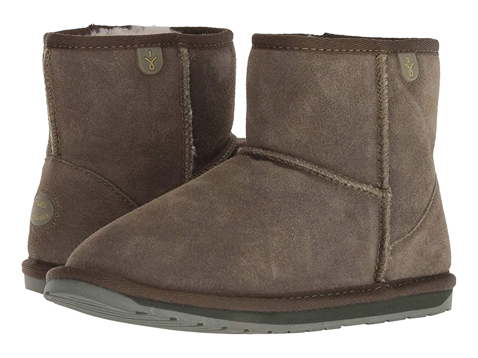 EMU Australia Kids Wallaby Mini (Toddler/Little Kid/Big Kid) (Khaki) Kids Shoes