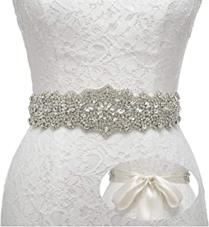 Rhinestone Bridal Belt Crystal Wedding Belt Bridesmaid Sash Women Dress Accessories