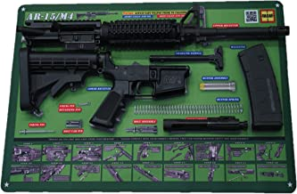 """Tactical Atlas AR-15 M4 M16 Gun Cleaning Mat 