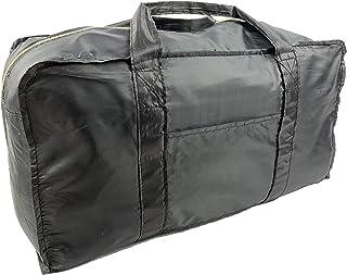 Foldable Travel Duffel Bag (Black)