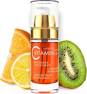 Noche Y Dia Vitamin C Serum - Daily Anti Aging Formula for Face & Skin - Brighten & Even Skin Tone - Reduce Appearance Of Wrinkles, Dark Circles, Fine Lines, Sun Damage - Boost Collagen - 1.02 oz