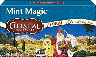 Celestial Seasonings Herbal Tea, Mint Magic, 20 Count (Pack of 6)