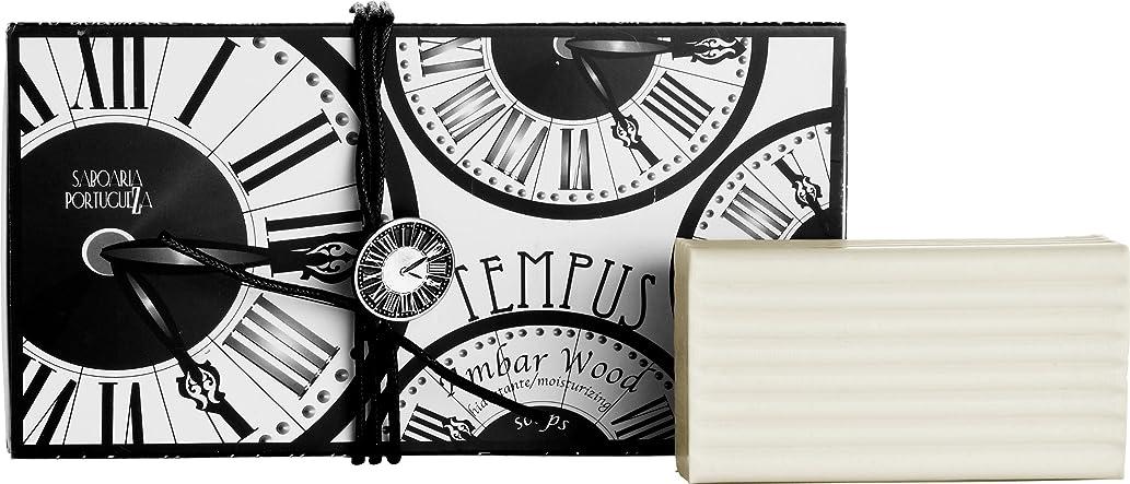作成者自発息切れサボアリア テンプス/tempus ソープセット3×180g アンバーウッド