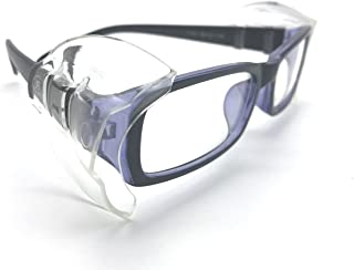 Wanty 2 Pair Universal B26+ Wing Mate Safety Glasses Side Shields - Fits Small to Medium Eyeglasses