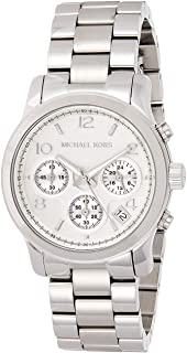 Michael Kors Runway Women's Silver Stainless Steel Chronograph Watch - MK5076