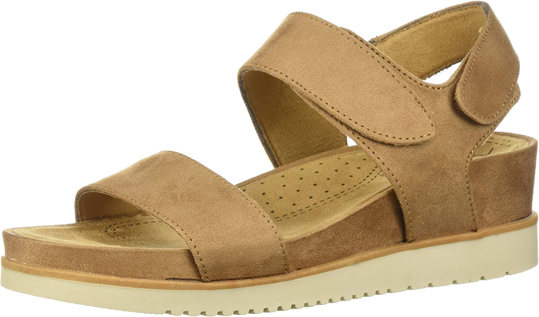 SOUL Naturalizer Women's Kaila Flat Sandal Tan