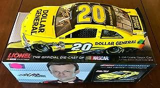 2013 Matt Kenseth Dollar General Home Depot Signed 1/24 Diecast Car W/COA - Autographed Diecast Cars