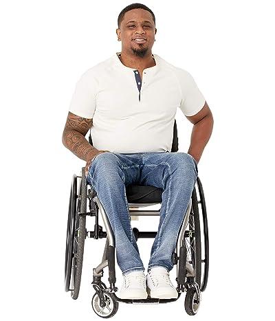 Seven7 Adaptive Seated Slim Straight Jogger w/ Thigh Pockets in Mosset Dark (Mosset Dark) Men