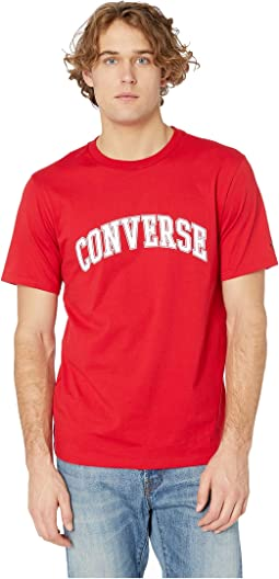 Collegiate Text Short Sleeve Tee