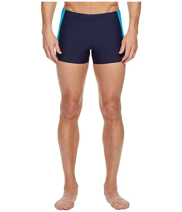 Speedo  Fitness Splice Square Leg (Navy/Blue) Mens Swimwear