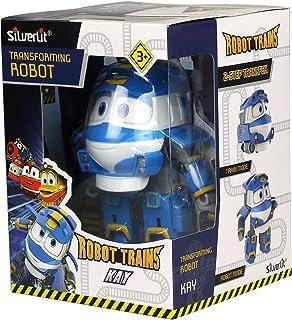 Robot Trains–80174–Figura umbaubar N ° 1–Modelo y color aleatorio de Kay/Alf/Victor , color/modelo surtido