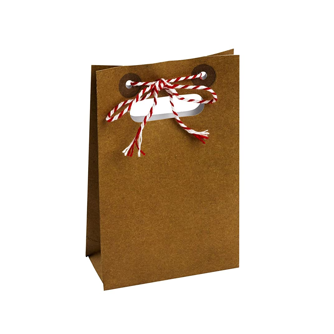 Neviti Just My Type Favour Bags, Craft Paper, 5 x 1.9 x 0.1 cm