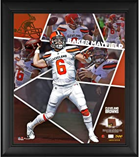 Baker Mayfield Cleveland Browns Framed 15