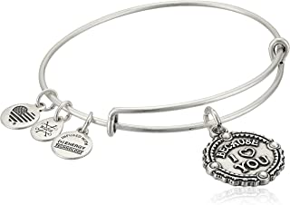 Womens Because I Love You III Bangle
