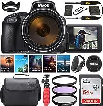 $1029 » Nikon COOLPIX P1000 Digital Camera || 24-3000mm Lens || 16 MP || Built-in Wi-Fi || Vibration Reduction + Camera Kit Specia...