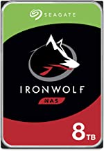 Seagate IronWolf 8TB NAS Internal Hard Drive HDD – 3.5 Inch SATA 6Gb/s 7200 RPM 256MB Cache for RAID Network Attached Stor...