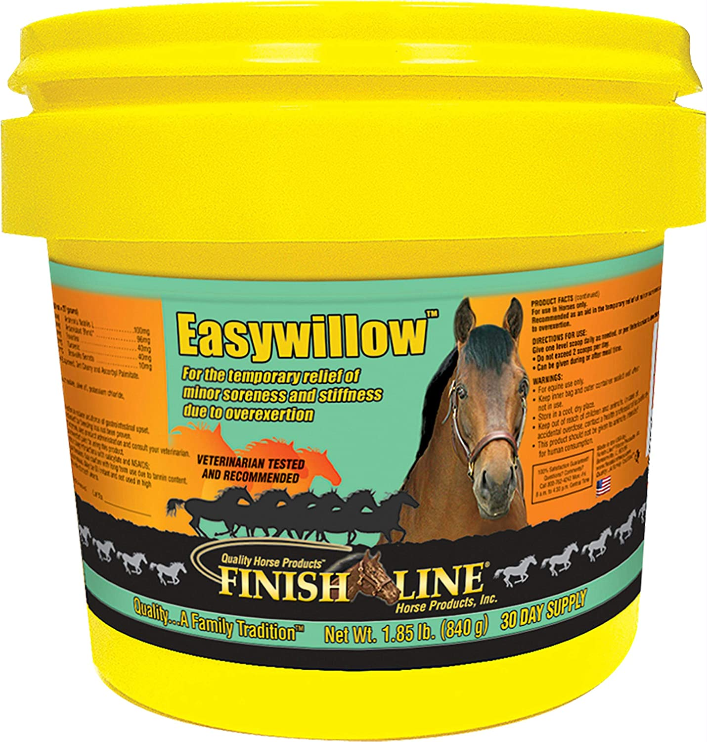 Finish Line Easywillow Pain Relief Supplement