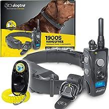 یقه آموزش از راه دور Dogtra 1900S HANDSFREE - محدوده 3/4 مایل ، ضد آب ، قابل شارژ ، شوک ، لرزش ، کنترل از راه دور هندزفری - شامل صدای PetsTEK آموزش سگ