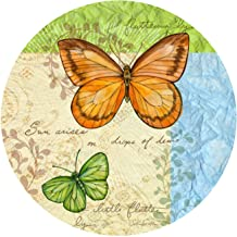 Thirstystone Stoneware Coaster Set, Flutter By