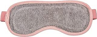 Hemp Sleep Mask, 2 Pack, Hemp Terry Fabric, Comfortable & Eco-friendly, Grey with Pink Strap