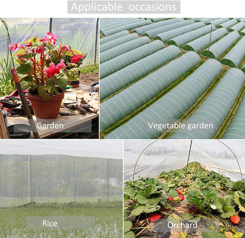 Multifonctionnel Plantes De Jardin Maille De Croissance Tunnel Filet Filets pour Jardin Filet de Protection Contre Les Insectes Et Les Oiseaux pour L/égumes Fruits et Fleurs A-6X2.4M