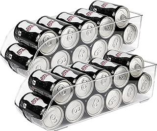 Greenco Refrigerator and Freezer Drink Holder Storage Bin, 13.5