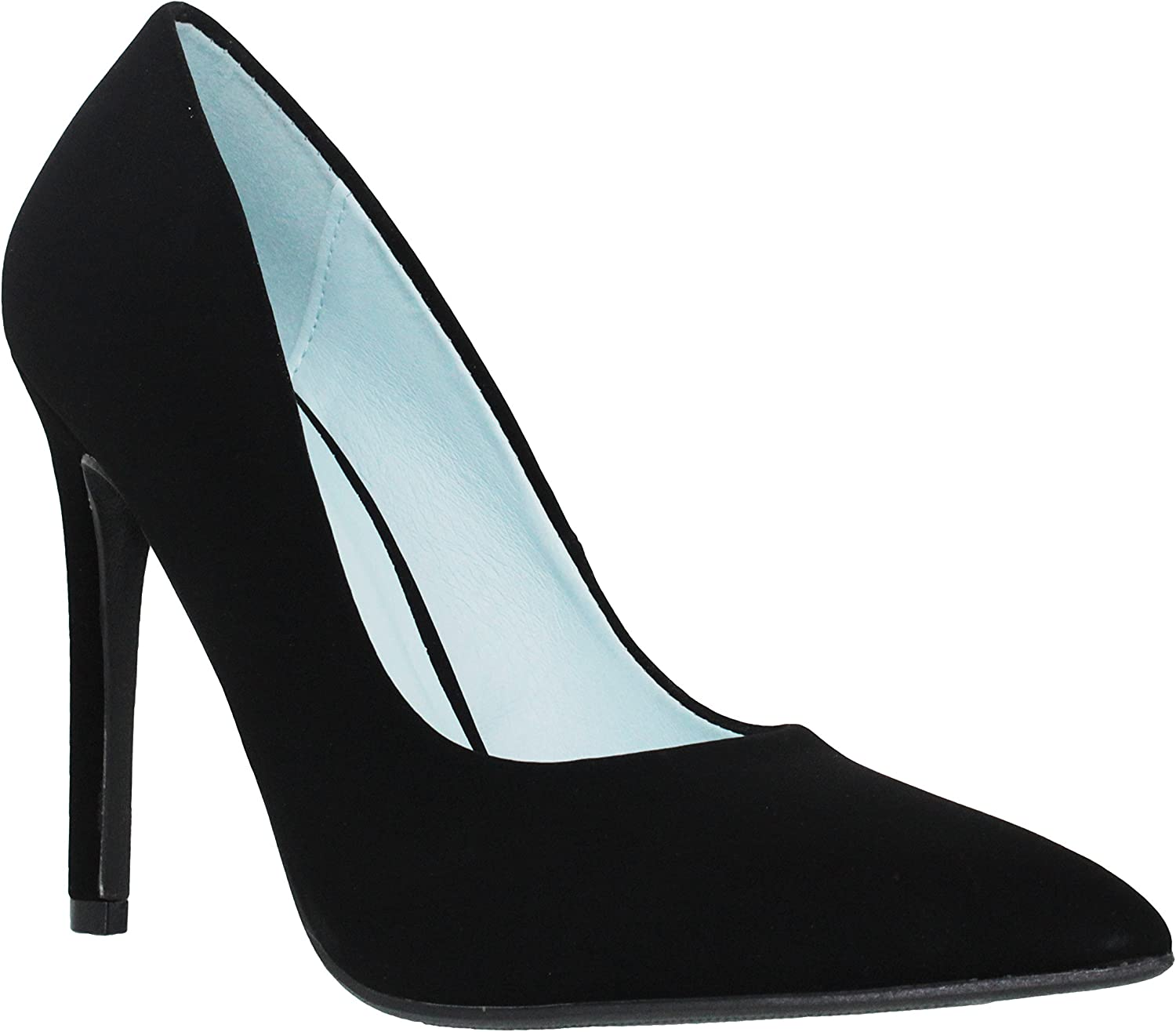 MVE Shoes Mid Finally Max 88% OFF popular brand Heel Shiny Strap Pumps Pointed Ankle