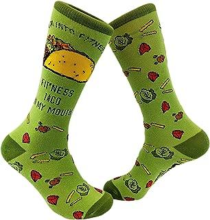 Fitness Taco Sock Funny Cute And Humorous Cinco De Mayo Pun Casual Footwear