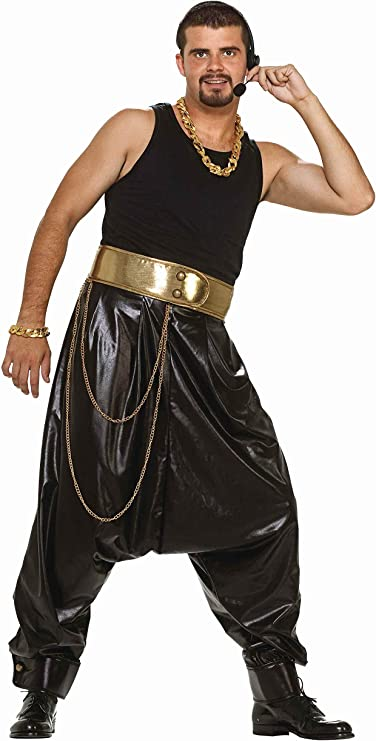 90s Outfits for Guys | Trendy, Party, Cool, Casaul Forum Novelties Mens Adult Rap Star Costume Pants  AT vintagedancer.com