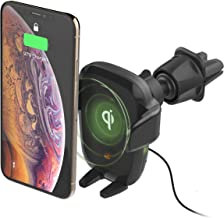 iOttie Auto Sense Automatic Clamping Qi Wireless Charging CD Slot + Air Vent Combo Car Phone Mount, Car Charger    for iPhone, Samsung Galaxy, Huawei, LG, Smartphones