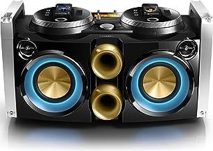 Philips FWP3200D Mini Hi-Fi System Mix like a DJ 30-pin dock 100 - 240V AC, 50/60Hz for iPod, iPhone USB photo