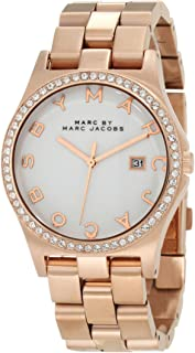 Marc by Marc Jacobs Women's White Dial Stainless Steel Band Watch - MBM3079