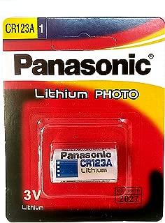 Panasonic Camera Battery 3V, (CR-123AW/1BE)