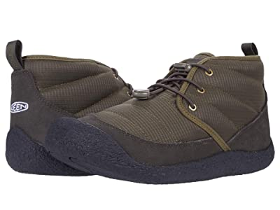 KEEN Howser II Chukka (Dark Olive/Black) Men
