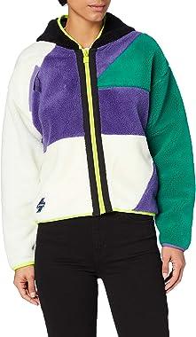Superdry Sportstyle Nrg Sherpa Zip Pull Cardigan Femme