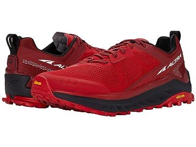 Altra Footwear Olympus 4 (Red) Men