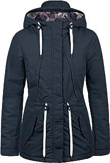 Damen Kapuzenpullover Sweater Trench Coat Mantel Parka Pelz Warm Übergangsjacke
