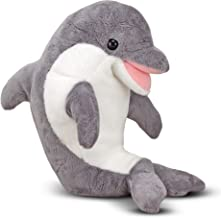 Melissa & Doug Skimmer Dolphin Stuffed Animal (Great Gift for Girls and Boys - Best for 3, 4, 5, 6, 7 Year Olds and Up)