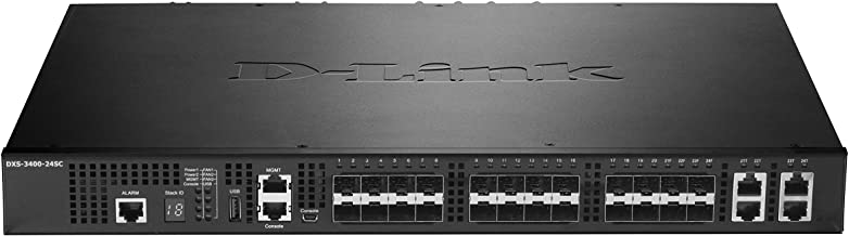 D-Link Systems DXS-3400-24SC 24-Port Lite Layer 3 Stackable 10GbE Managed Switch