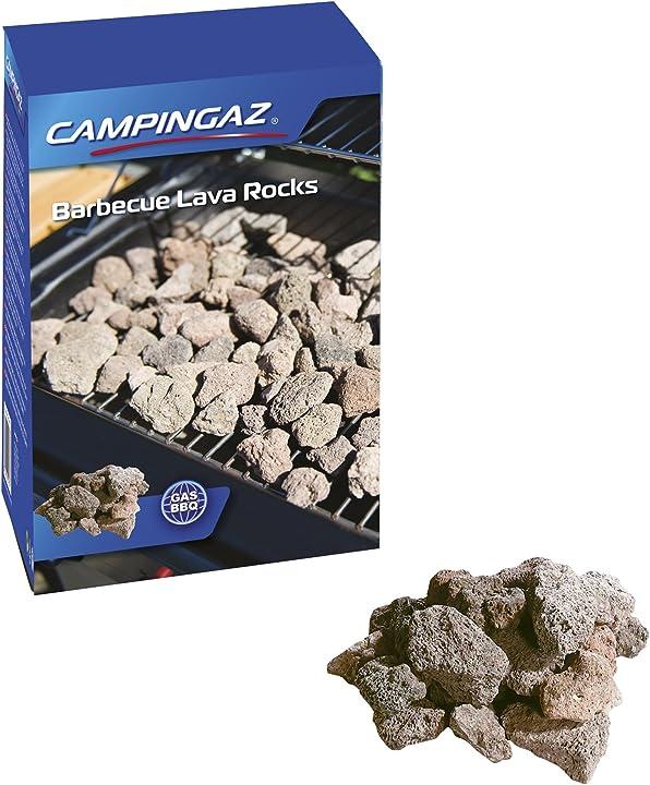 Pietre per barbecue campingaz roccia lavica 205637