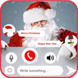 Santa Fake Video Call & Fake Chat Simulator Phone Call ID PRO